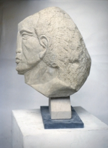 Head - view 3 (portland stone)