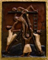 Deposition of Christ (papier maché)