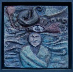 Sea dream (papier maché)