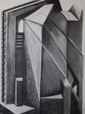 Architectural 4 (charcoal on paper)