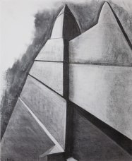 Architectural 5 (charcoal on paper)