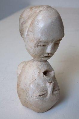 Last kiss (plaster 7 x 14 x 6cm)