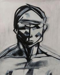 Head 4 (oil 50 x 40cm)