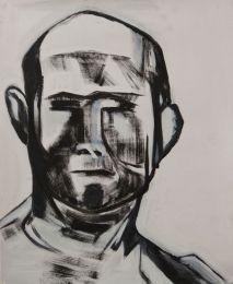 Head 5 (oil 50 x 40cm)