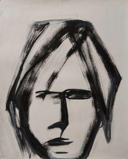 Head 3 (oil 50 x 40cm)
