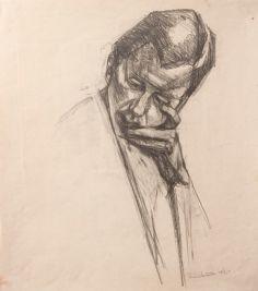 Portrait 1 (pencil on paper 44 x 35cm)