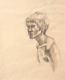 Portrait 2 (pencil on paper 44 x 35cm)