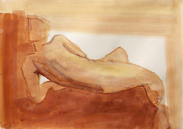 Sketch (acrylic wash 24 x 31cm)