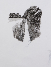 Pathway 4 (ink on paper)