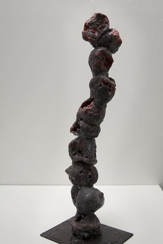 Totem - view 2 (wax)